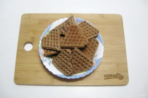 Шоколадные вафли - фото шаг 11