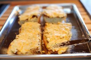 Чесночные гренки с сыром - фото шаг 6