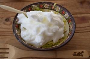 Суфле из кабачков с грибным соусом - фото шаг 3