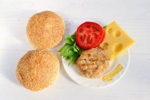 Бутерброды с базиликом - фото шаг 4