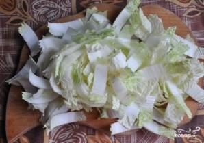 Салат с сулугуни и курицей - фото шаг 3