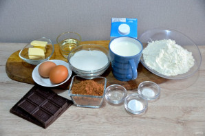 """Торт """"Шоколадный бархат"""" - фото шаг 1"""