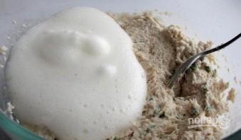 Куриное суфле в духовке диетическое - фото шаг 4