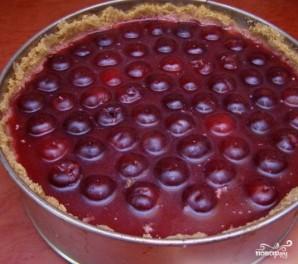 Творожно-ягодный торт - фото шаг 10