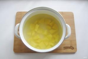 Суп с желтой чечевицей - фото шаг 2