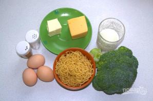 Запеканка из макарон с брокколи - фото шаг 1