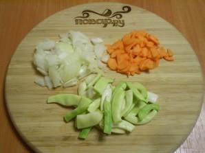 Салат из цветной капусты с зеленой фасолью - фото шаг 2