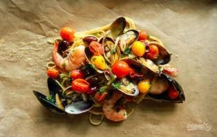 Паста из морепродуктов - фото шаг 4