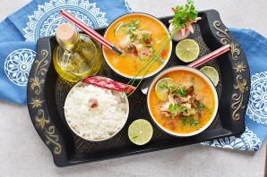 Суп из коктейля морепродуктов - фото шаг 9