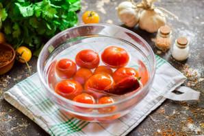 Помидоры соленые с болгарским перцем - фото шаг 2