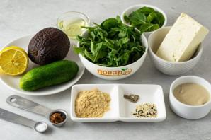 Салат с рукколой и тофу - фото шаг 1