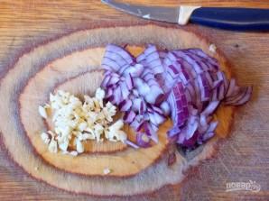Куриный террин со свиной вырезкой - фото шаг 3