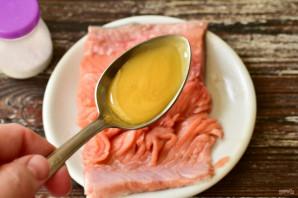 Засолка красной рыбы с медом