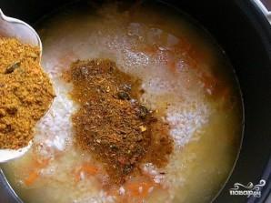 Свинина с рисом в мультиварке - фото шаг 7