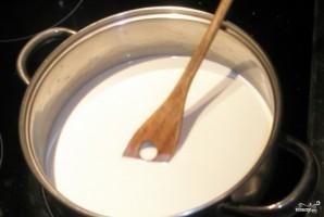 Блинный торт с шоколадным кремом - фото шаг 1