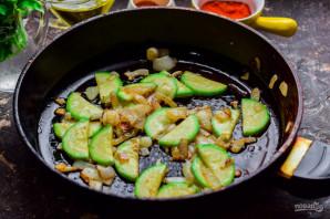 Фунчоза с кабачками - фото шаг 4