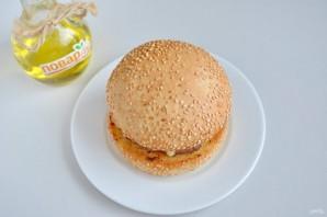 Очень вкусный бургер - фото шаг 11