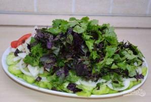 Овощной салат по-грузински с орехами - фото шаг 4