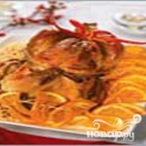 Рождественская индейка с апельсинами - фото шаг 6