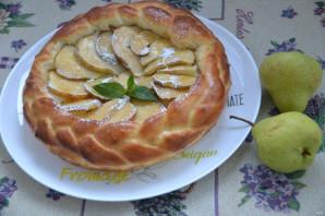 Дрожжевой пирог с грушами - фото шаг 14