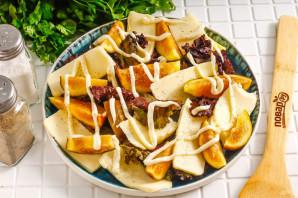 Салат с инжиром и моцареллой - фото шаг 5