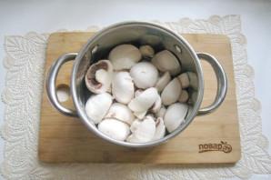 Грибы маринованные с перцем - фото шаг 7