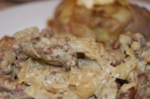 Говядина в сливочном соусе - фото шаг 8