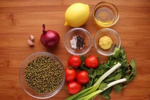 Салат с пророщенным машем - фото шаг 1