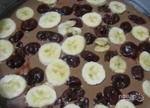 Пирог с бананом и шоколадом - фото шаг 4