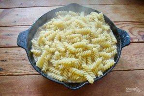 Макароны с мясом под сыром в духовке - фото шаг 7
