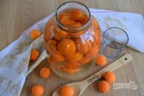 Компот из абрикосов на зиму (очень простой) - фото шаг 3