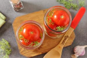 Маринованные помидоры с луком и чесноком на зиму - фото шаг 3