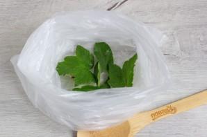 Малосольные овощи в пакете - фото шаг 2