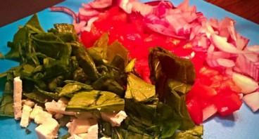 Овощной омлет диетический - фото шаг 2