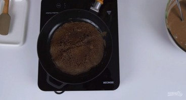 "Блинный торт ""Ферерро"" - фото шаг 3"