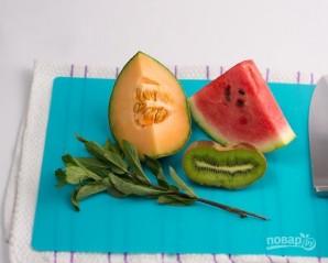 Салат из свежих фруктов - фото шаг 1