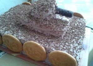 "Торт ""Танк"" - фото шаг 8"