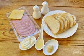 Стрэндвич с индейкой и сыром - фото шаг 1