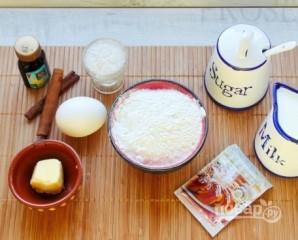 Тесто на плюшки - фото шаг 1