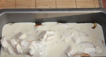 Куриное филе под соусом в духовке - фото шаг 6