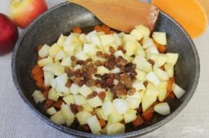 Пряный пудинг из тыквы и яблок - фото шаг 9