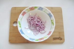 "Салат ""Лакомка"" из помидор на зиму - фото шаг 2"