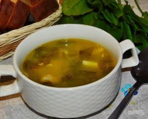 Суп с курицей и щавелем - фото шаг 5