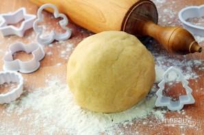 Простой рецепт песочного теста - фото шаг 6