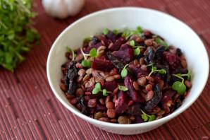 Салат из чечевицы и свеклы - фото шаг 7