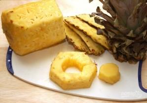 Маринованные ананасы на гриле - фото шаг 1