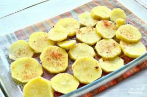 Запеканка картофельная с консервами - фото шаг 2