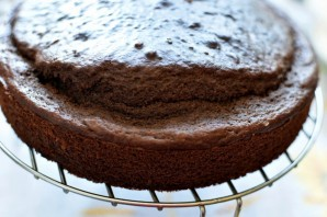 Шоколадный торт  «Ореховый прутик» - фото шаг 5