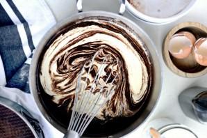 Шоколадный пирог на пиве - фото шаг 5