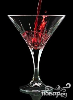 """Коктейль """"Клюковка мартини"""" - фото шаг 4"""